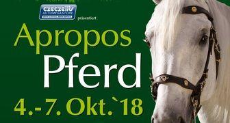 Apropos Pferd 2018 - выставка лошадей и оборудования для конного спорта