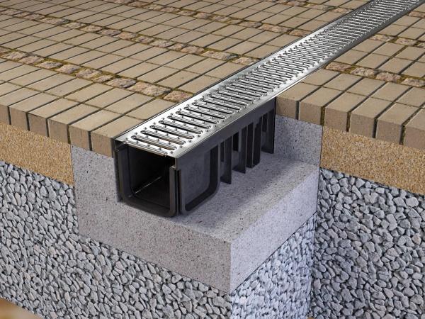 Системы линейного водоотвода - Дом